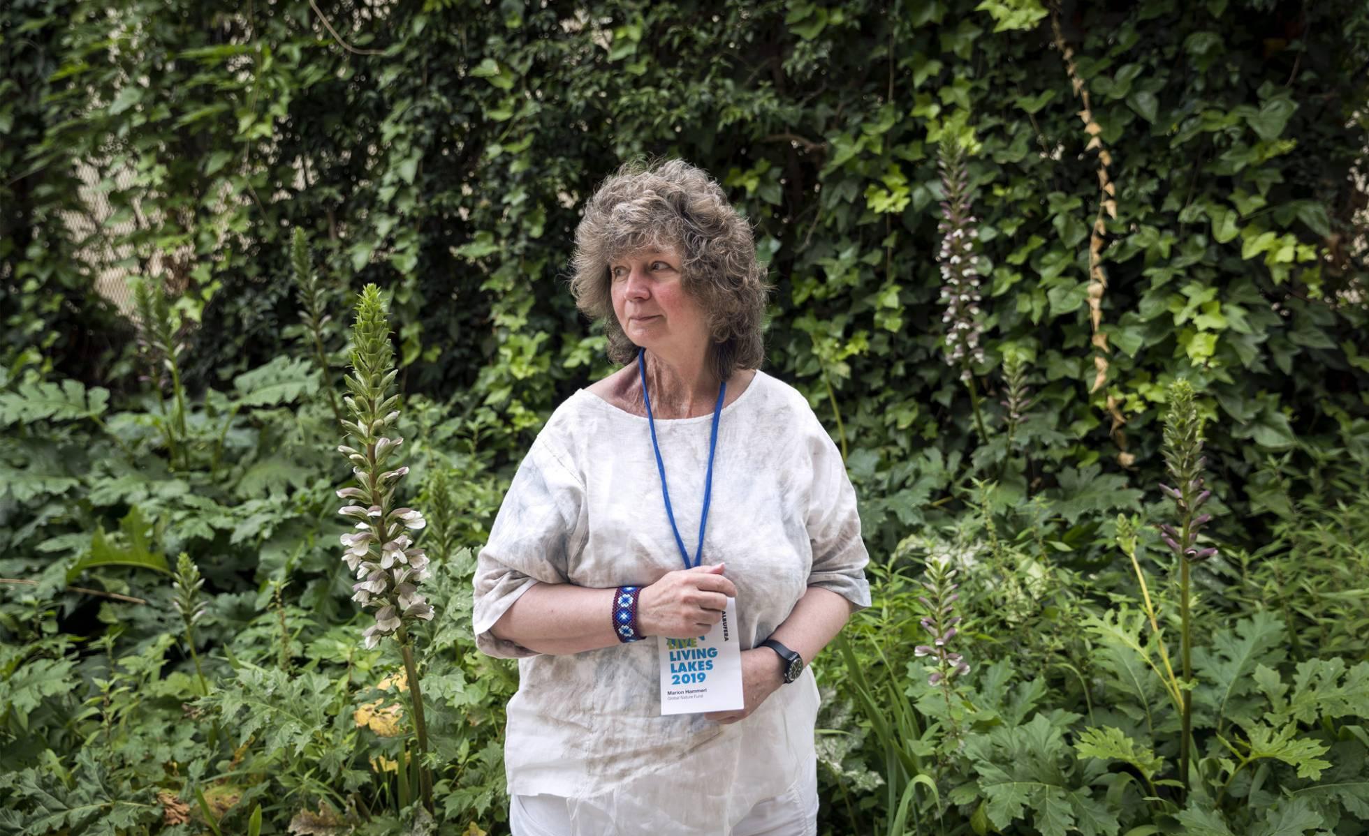 Marion Hammerl, presidenta de Living Lakes